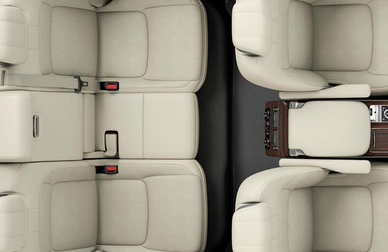 2020 Land Rover Range Rover cabin