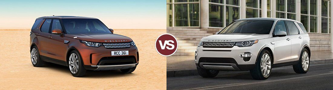 2017 Land Rover Discovery vs Discovery Sport