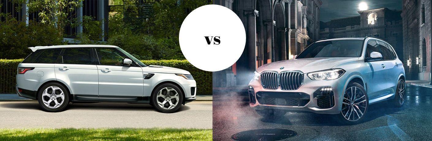 2019 Range Rover Sport SVR vs 2018 BMW X5 M