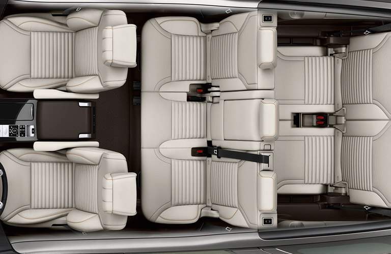2017 Land Rover Discovery interior features and safety