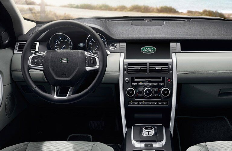 2017 Land Rover Discovery Sport Front Seating Space