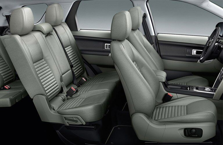 2017 Land Rover Discovery Sport Rear Seating Space