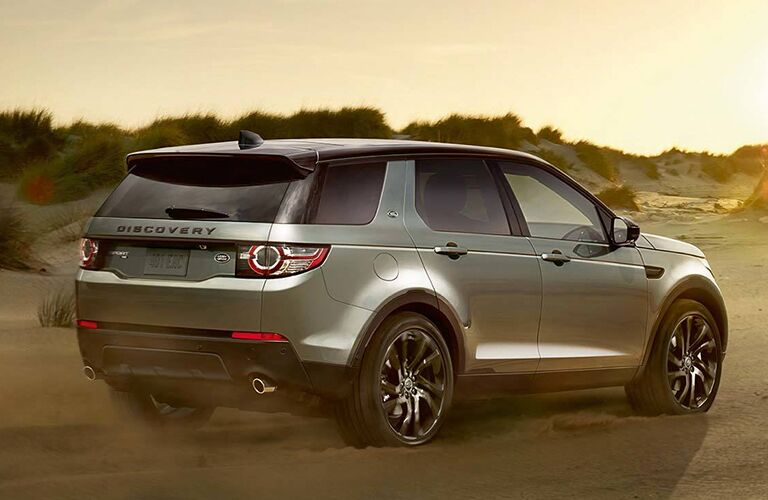 2018 Land Rover Discovery Sport from behind