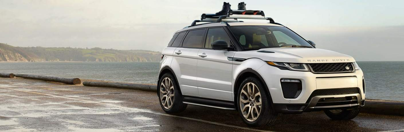 2018 Land Rover Range Rover Evoque Parked By Water