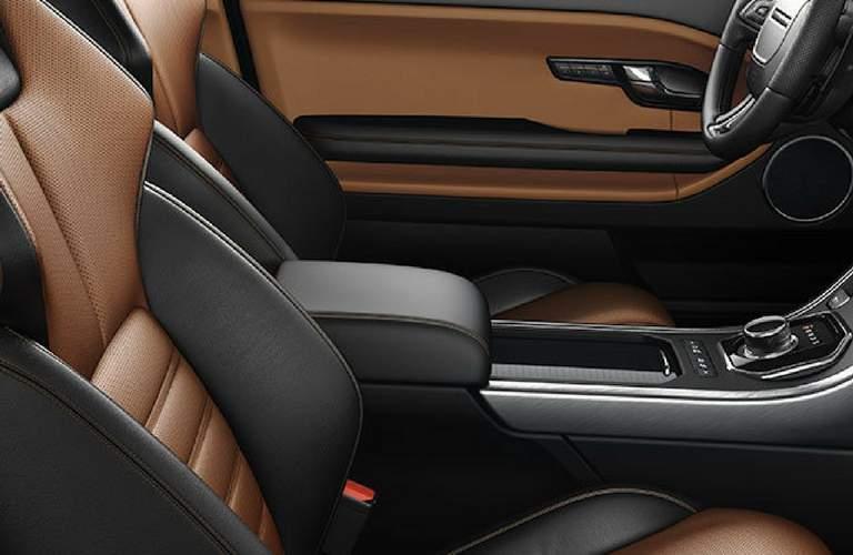 2018 land rover range rover evoque premium leather interior
