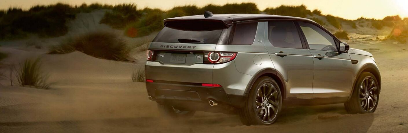 2018 Land Rover Discovery Sport exterior rear passenger side view