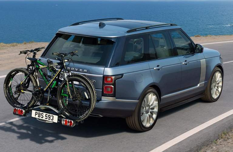 2018 Land Rover Range Rover with Bike Rack