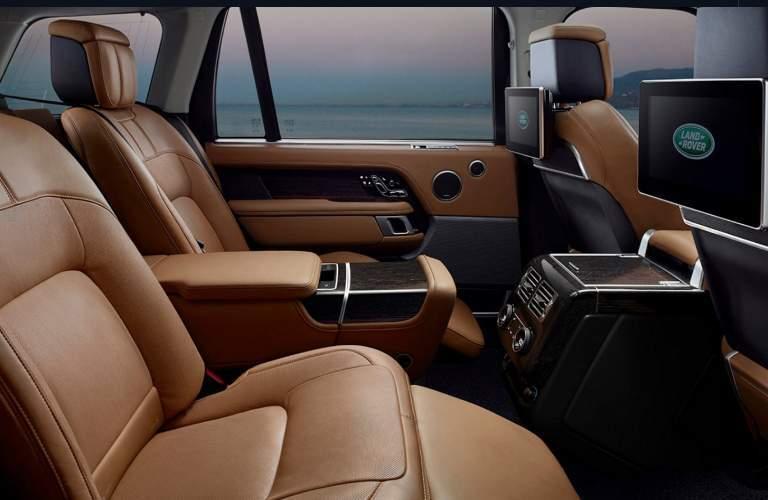 2018 Land Rover Range Rover Rear Seats