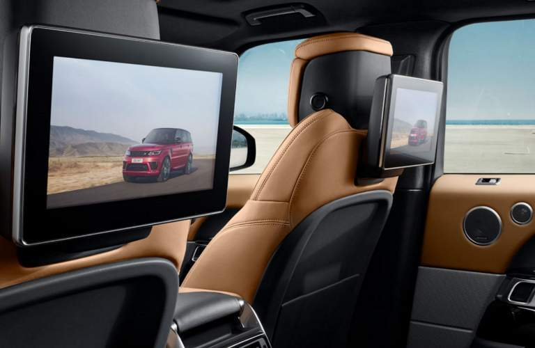 2018 Land Rover Range Rover Sport Dual Screen Rear Entertainment System