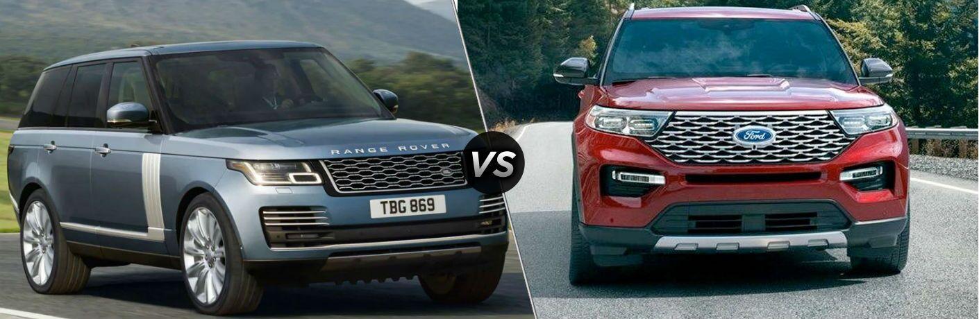 2020 Land Rover Range Rover vs 2020 Ford Explorer