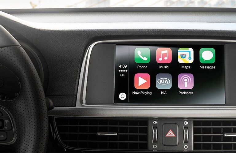 2017 Kia Optima touch screen