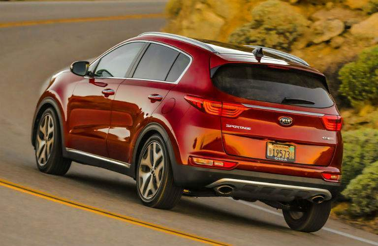 2018 Kia Sportage in red