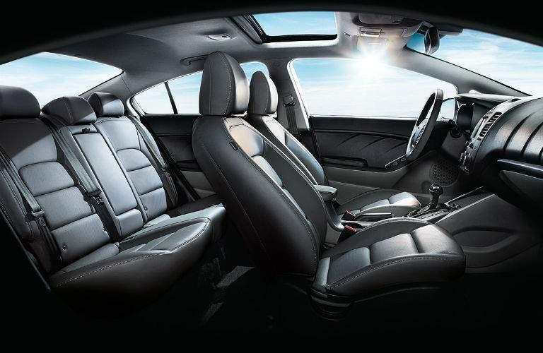 2018 Kia Forte profile view of seating