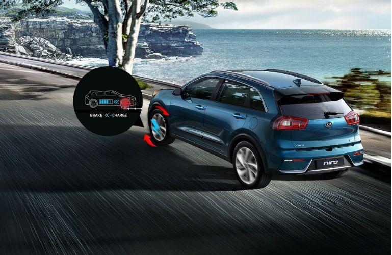 2018 Kia Niro Plug-in Hybrid with regenerative braking