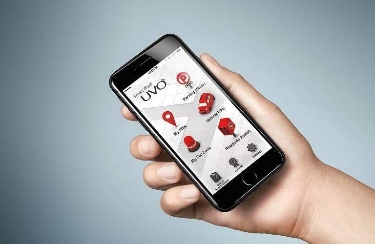 2018 Kia Niro UVO eServices App