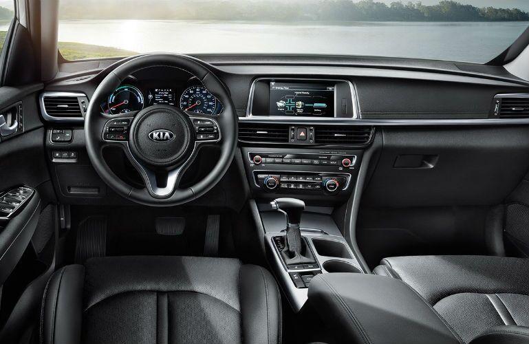 2018 Kia Optima driver's side interior view