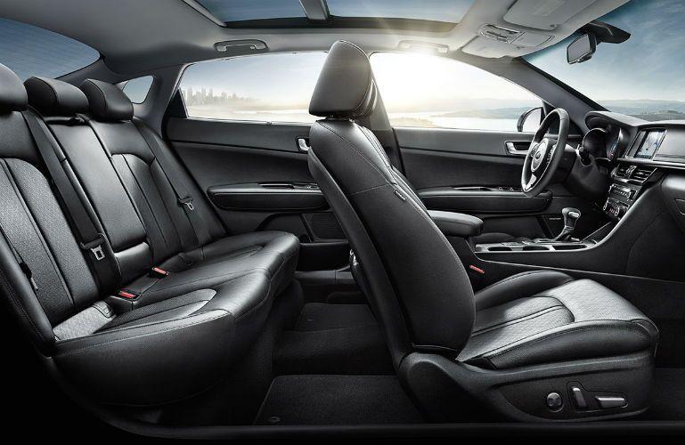 2018 Kia Optima Hybrid full interior view of seats