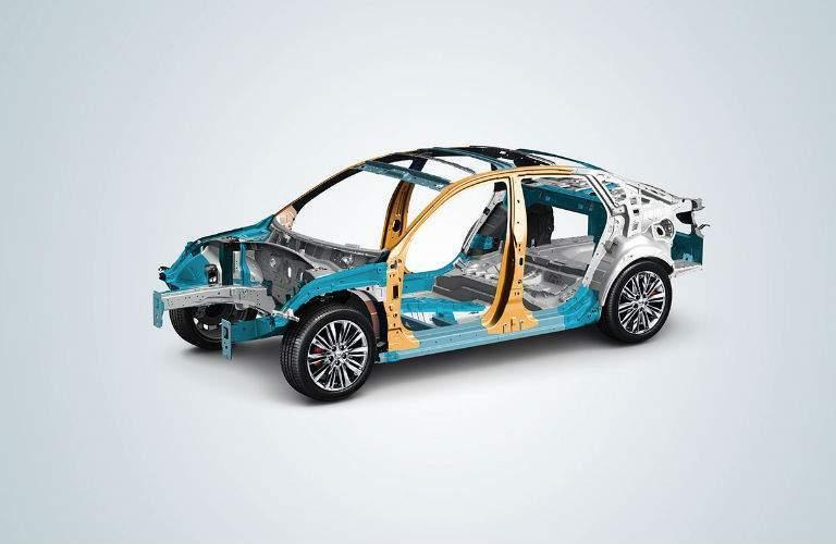 2018 Kia Optima advanced engineering body structure
