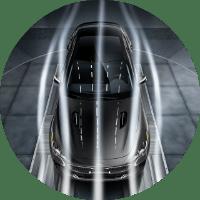 2018 Kia Stinger against wind resistance