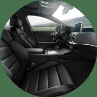 2018 Kia Stinger front leather seats