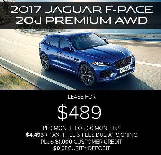 lease jaguar pace specials finance