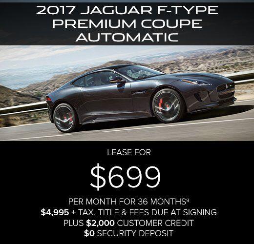 Jaguar Lease Price: Jaguar Lease And Finance Specials