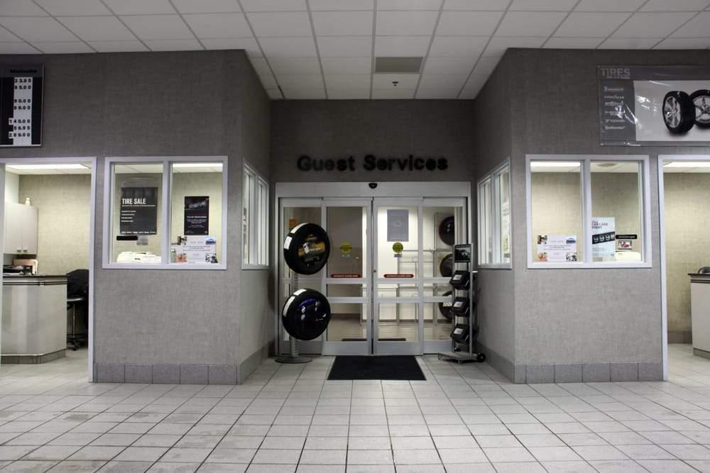 Nissan Service Department