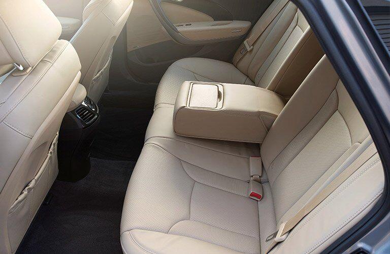 2017 Hyundai Azera Interior Cabin Back Seat