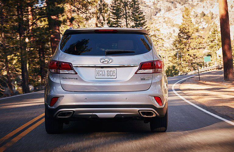 2017 Hyundai Santa Fe Exterior Rear Fascia