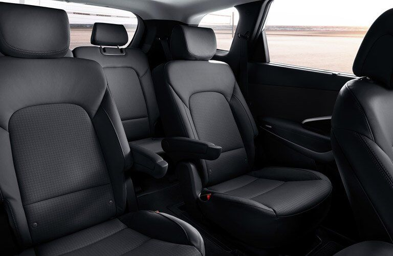 2017 Hyundai Santa Fe Interior Cabin
