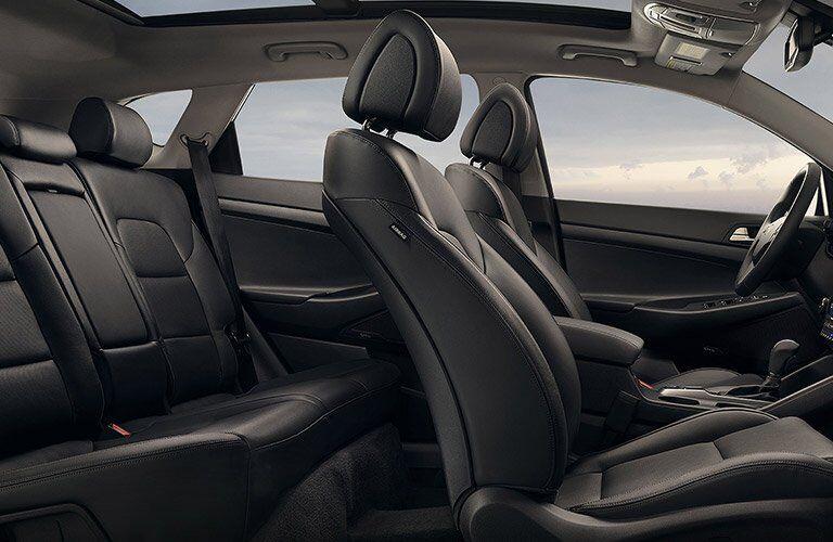 2017 Hyundai Tucson interior space