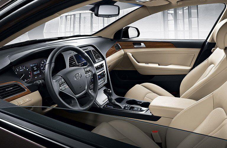 2017 Hyundai Sonata Interior Design