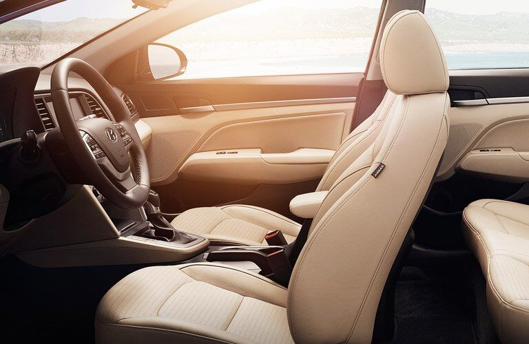 2017 Hyundai Elantra Interior Design