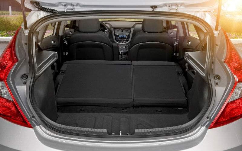 2017 Hyundai Accent Interior Cargo Area