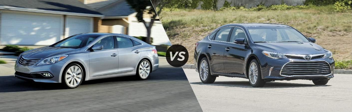 2017 Hyundai Azera vs 2017 Toyota Avalon