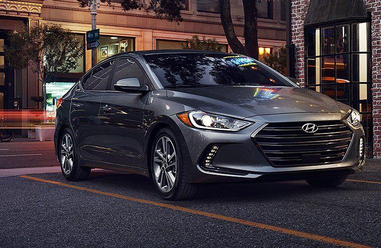 2017 Hyundai Elantra Exterior Front Profile