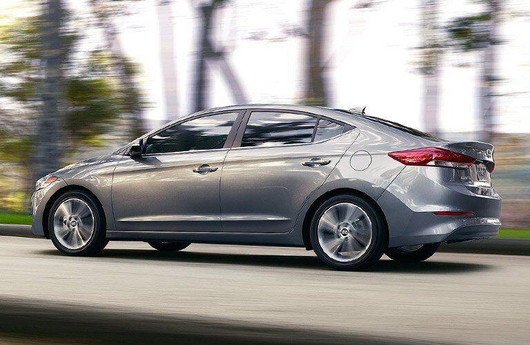 2017 Hyundai Elantra Exterior Rear Profile