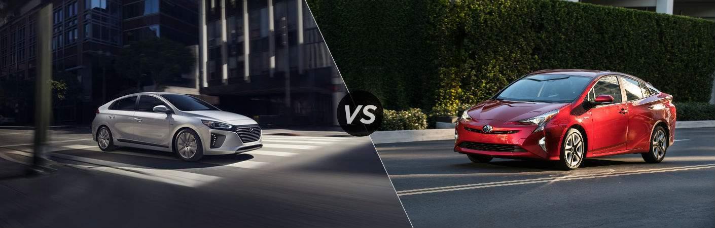 2017 Hyundai Ioniq vs 2017 Toyota Prius