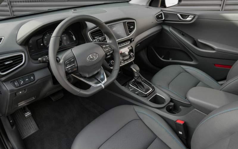 2017 Hyundai Ioniq Interior Front Seat