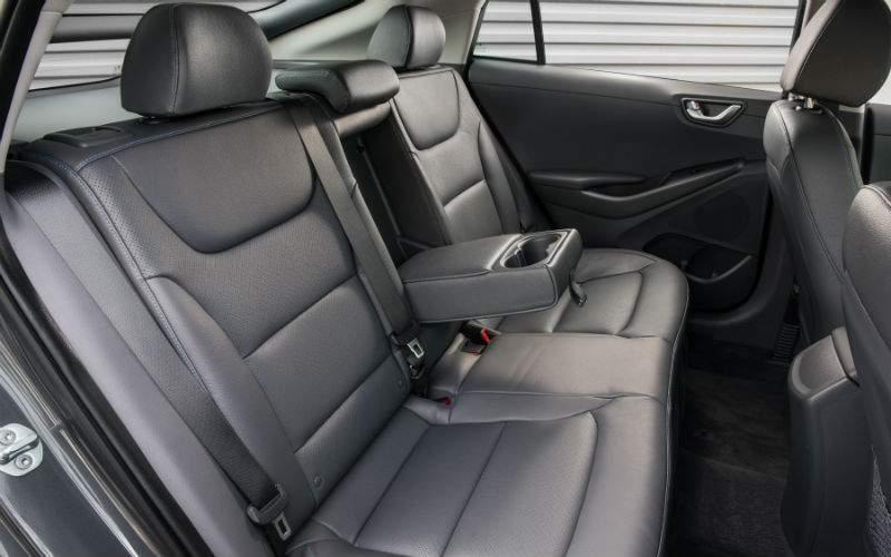 2017 Hyundai Ioniq Interior Rear Seat