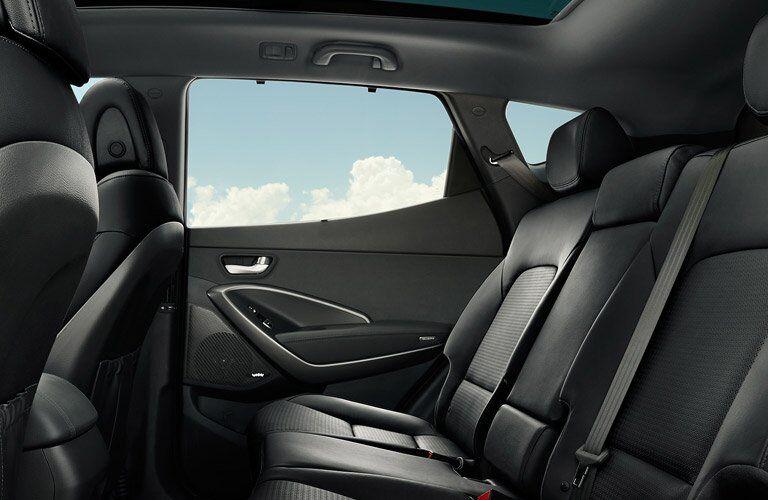 2017 Hyundai Santa Fe Sport Interior Back Seat