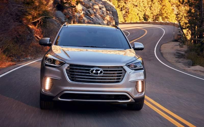 2017 Hyundai Santa Fe Exterior Front Fascia