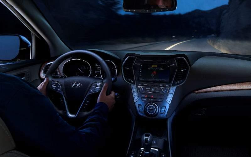 2017 Hyundai Santa Fe Interior Cabin Dashboard