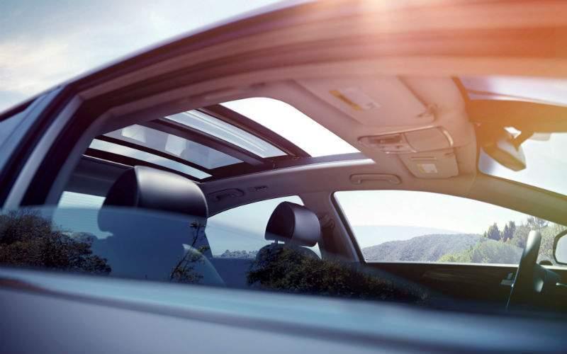 2017 Hyundai Sonata Hybrid Exterior Rear Seat