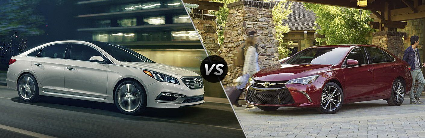 2017 Hyundai Sonata vs 2017 Toyota Camry