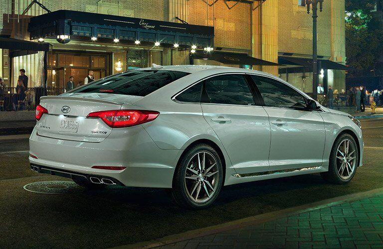 2017 Hyundai Sonata Exterior Rear Profile