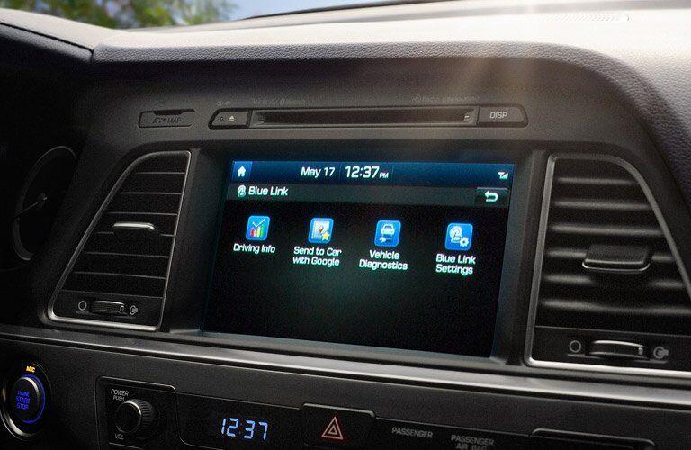 2017 Hyundai Sonata Interior Cabin Display Audio
