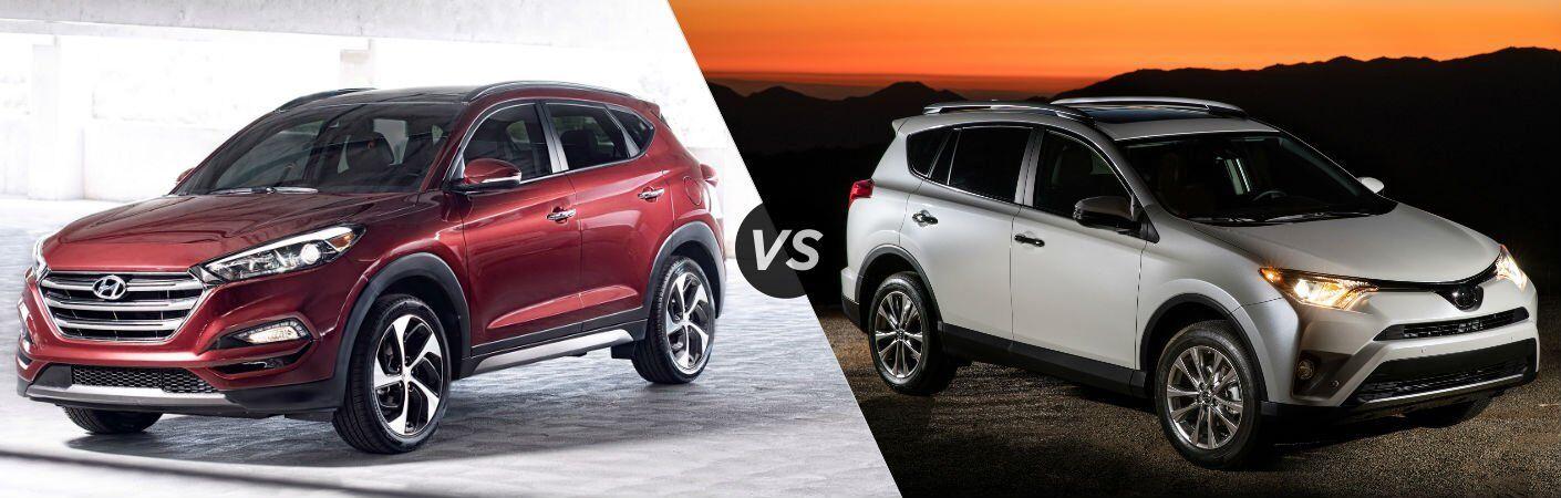2017 Hyundai Tucson vs 2017 Toyota RAV4