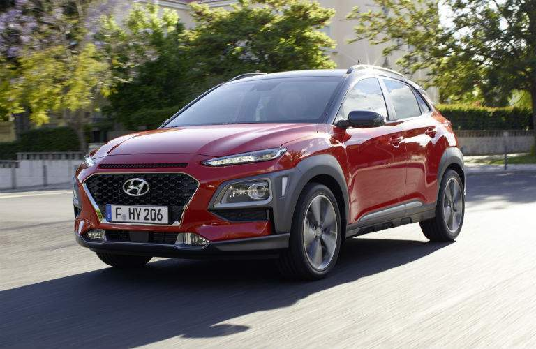 2017 Hyundai Kona Exterior Driver Side Front Profile