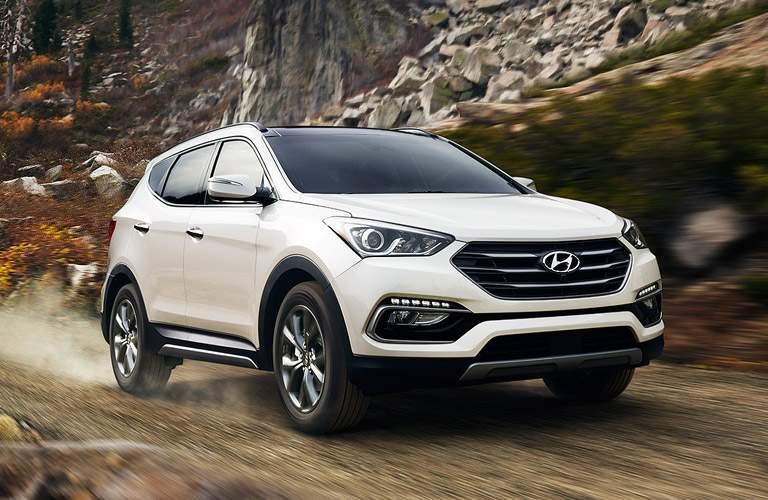 2017 Hyundai Santa Fe Sport Exterior Passenger Side Front Profile